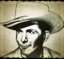 Hank Williams drawing by RobCrandall