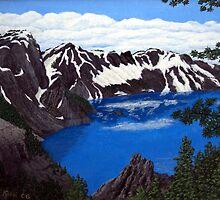 Crater Lake by fbkohli