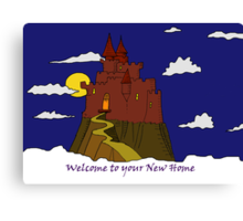Welcome to Your New Home Canvas Print