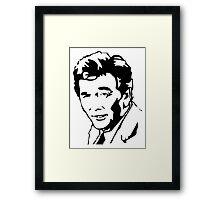Peter Falk Columbo Framed Print