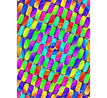 Tumblr 35 by CAP -Amazing Optical Illusion Moving Psychedelic Design Photographic Print
