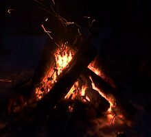 Fire In The Night by MaeBelle