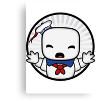 Baby Stay Puft  Canvas Print