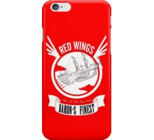 Red Wings of Baron iPhone Case/Skin