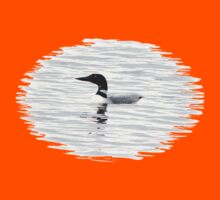 Loon on the Water Kids Clothes