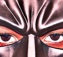 Bat Man's eyes by pjesten