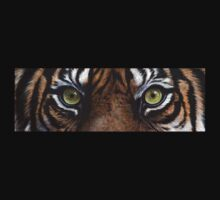 Tiger Eyes T-shirt by artbyakiko