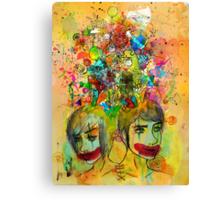 Fraternal Siamese Canvas Print