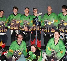 Rats Senior C Black Team Winter Season 2008 by Lilydale Rats Inline Hockey Club