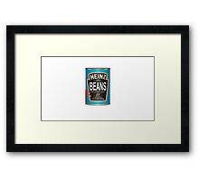 DayZ - Baked Beans Framed Print