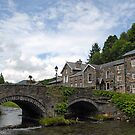 Beddgelert Village - Wales by Graham Taylor
