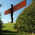 Angel of the North by Charlie  Durán