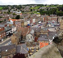 """UK: """"Richmond Town Square"""", North Yorkshire by Kelly Sutherland"""