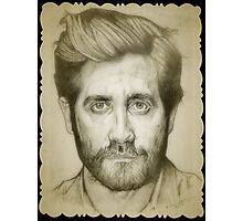 Jake Gyllenhaal drawing Photographic Print