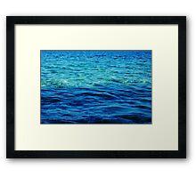 The Ionian Sea Framed Print