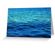 The Ionian Sea Greeting Card