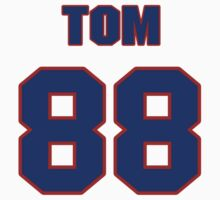National football player Tom Coombs jersey 88 by imsport