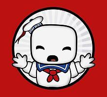 Baby Stay Puft  by Numnizzle