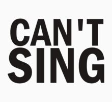 Glee: Can't Sing by DareBearEfron