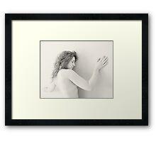 Nude in high-key 7 Framed Print