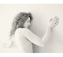 Nude in high-key 7 Photographic Print
