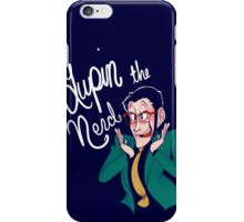 Lupin the Nerd iPhone Case/Skin