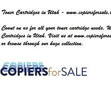 Toner Cartridges in Utah - www.copiersforsale.biz by copiersforsale