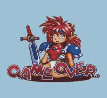 Popful Mail (Sega CD) Game Over Shirt by AvalancheShirts