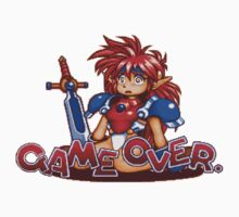 Popful Mail (Sega CD) Game Over Shirt Kids Clothes