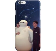 Danisnotonfire and Amazingphil with Baymax galaxy (Big Hero 6) iPhone Case/Skin