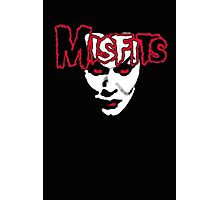 Misfits Scary Demon Cool Photographic Print