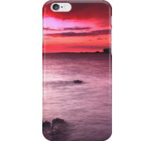 Snapper Island Sunset iPhone Case/Skin