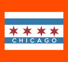 chicago flag Kids Clothes