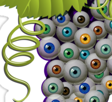 EYEBALL GRAPES  Sticker