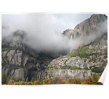 Yosemite Park Waterfall Poster