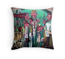 The Strip Strollers Throw Pillow