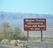 Mojave Visitor Information by Snoboardnlife