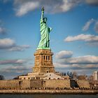 Statue of Liberty NYC New York  by Ron Finkel