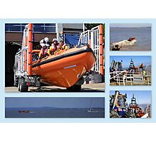 RNLI to the rescue Photographic Print