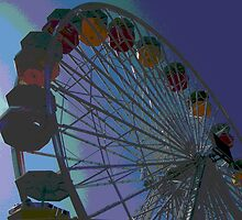 "Ferris Wheel Fun II by Lenora ""Slinky"" Regan"
