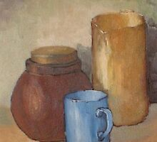 Blue cup by Duane Hurn