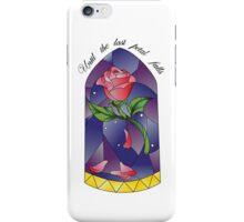 Until the last petal falls iPhone Case/Skin