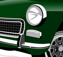 Austin Healey Sprite Mark IV British Racing Green Sticker