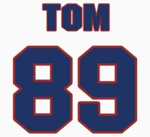 National football player Tom Day jersey 89 by imsport