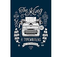 The King of Typewriters Photographic Print