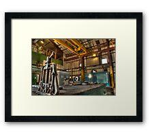 The compressor House Framed Print