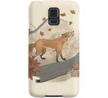 fox and rabbit Samsung Galaxy Case/Skin