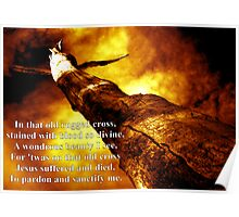 The Old Rugged Cross (with words) Poster