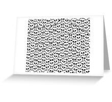 Skulls Greeting Card