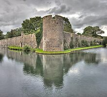 Bishops Palace, Wells, UK by Simon Pow